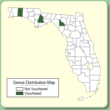 Genus Distribution Map